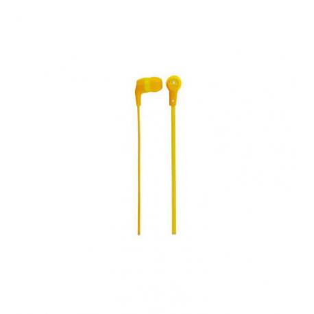 AUDIFONOS ACTECK XPLOTION EARBUDS HI-FI,CABLE PLANO,3.5MM AMARILLO