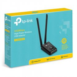 ADAPTADOR DE RED USB TP-LINK TL-WN8200ND INALAMBRICO 300MBPS 2-ANTENAS DESMONTABLES 5DBI 2W (TL-WN8200ND)