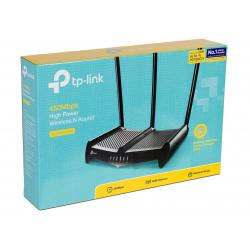 ROUTER INALAMBRICO TP LINK TL-WR941HP 450 MBPS HIGH POWER WIRELESS PERP, 3 ANTENAS DE 9DBI