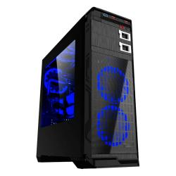 GABINETE GAMER EAGLE WARRIOR BLADEMK GAMING FAN AZUL 12CM (CGBLADEMKEGW)