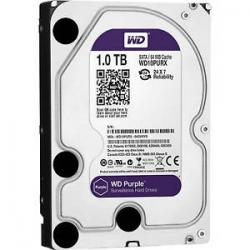 DISCO DURO INTERNO PC WESTERN DIGITAL PURPLE 3.5 1TB WD10PURZ(X), 5400 RPM, SATA 3