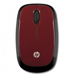 MOUSE HP WIRED RED X1250