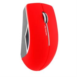 MOUSE OPTICO ACTECK INALAMBRICO USB COLOR ROJO