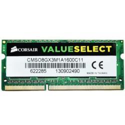MEMORIA SODIMM DDR3 CORSAIR (CMSO8GX3M1A1600C11) 8GB 1600 MHZ