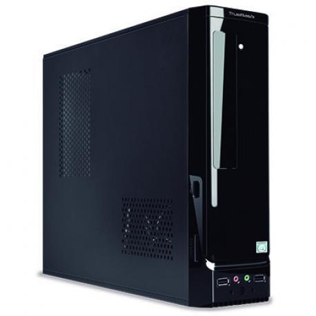 GABINETE ACTECK SLIM TRUEBASIX MICRO/MINI ATX/MNI ITX 450W (TB-05002)