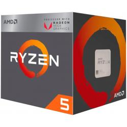 PROCESADOR AMD RYZEN 5 2400G 3.6GHZ 65W SOCKET AM4 WRAITH STEALTH