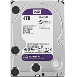 DISCO DURO WESTERN DIGITAL PURPLE 4TB 3.5 WD40PURZ 64M SATA3 5400RPM