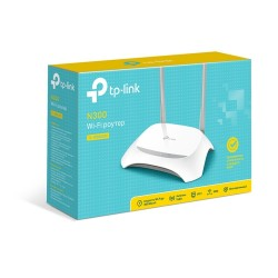 ROUTER INALAMBRICO TP-LINK TL-WR840N/V2 INALAMBRICO N 300MBPS 2T2R, 2.4GHZ 4 PTS LAN