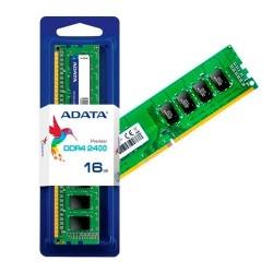 MEMORIA RAM DDR4 ADATA 16GB 2400 MHZ UDIMM AD4U2400316G17-S