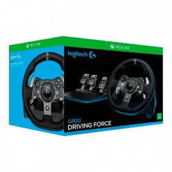 VOLANTE GAMMER LOGITECH G920 DRIVING FORCE RACING WHELL FOR XBOX ONE - LAT