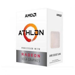 PROCESADOR AMD APU ATHLON 200GE S-AM4 2CORE 3.2GHZ 65W (YD200GC6FBBOX)
