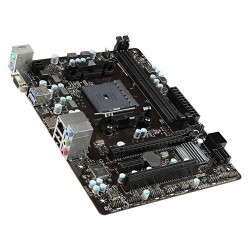 TARJETA MADRE MSI A68 AMD S-FM2/2X DDR3 1866/HDMI/VGA/2X USB3.0/MICRO ATX/GAMA BASICA (A68HM-E33 V2 )