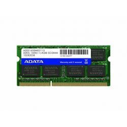 MEMORIA RAM ADATA DDR3 SODIMM 4GB 1600MHZ AD3S1600W4G11-S
