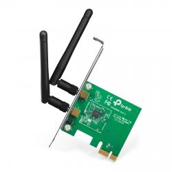TARJETA DE RED TP-LINK TL-WN881ND PCI EXPRESS X1 INALAMBRICA WIRELESS 300MBPS 2 ANTENAS DESMONTABLES 2DBI
