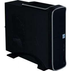 GABINETE ACTECK-I SLIM MICRO ATX/MINI ITX/USB 3.0/LECTOR SD/USB TIPO C/FUENTE DE 500W/ IVO (AC-922753)