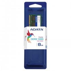 MEMORIA RAM SODIMM ADATA 8GB DDR3 1333MHZ (AD3S1333W8G9)