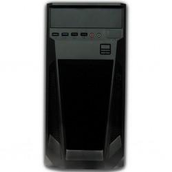 GABINETE KMEX CM08TG ATX Y MICRO ATX CON FUENTE 450W AUDIO HD 1XUSB 3.0 1XUSB 1.1 NEGRO CM08TGRA001K