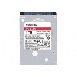 DISCO DURO INTERNO LAP TOP TOSHIBA L200 BULK 1TB 2.5P 5400RPM 128MB (HDWL110UZSVA)
