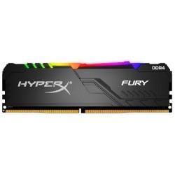 MEMORIA RAM PC DDR4 KINGSTON HYPERX FURYBLACK RGB 8GB 2400MHZ(HX424C15FB3A/8)