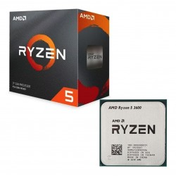 PROCESADOR AMD RYZEN 5 3600 3,6GHZ 32MB 65W SOC AM4 (100000031BOX)