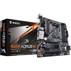 TARJETA MADRE GIGABYTE B450 AORUS M AMD RYZEN AM4/M.2 THERMAL GUARD/HDMI/DVI/USB 3.1 (B450 AORUS M)