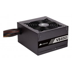 FUENTE DE PODER CORSAIR 650W VS650 REFURBISHED 80 PLUS WHITE ATX (CP-9020172-WW/RF)