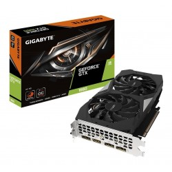 TARJETA DE VIDEO GIGABYTE GEFORCE GTX 1660 6GB NVIDIA PCI-E 3.0 GDDRE/192 BIT HDMI/DP*3 (N1660OC-6GD)