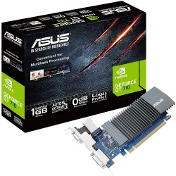 TARJETA DE VIDEO ASUS 1GB 32-BIT GDDR5, PCI EXPRESS 2.0 (GT710-SL-1GD5-BRK)