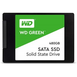 DISCO DE ESTADO SOLIDO (SSD) WESTERN DIGITAL 480GB 2.5 GREEN SATA III (WDS480G2G0A)