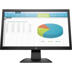 MONITOR HP 19.5 P204 LED 1600 X 900 VGA/ HDMI/ DP (5RD65A8#ABA)