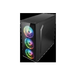 GABINETE SPECTRUM BALAM RUSH DRAGONFLY MEDIA TORRE ATX/MICRO ATX/MINI ITX/3 VENTILADOR (BR-929561)