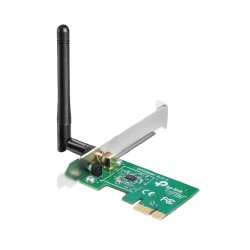 TARJETA DE RED PCI EXPRESS X1 INALAMBRICA TP-LINK TL-WN781ND WIRELESS 802.11N / G / B150MBPS ANTENA DESMONTA 2DBI (TL-WN781ND)
