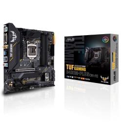 TARJETA MADRE ASUS TUF GAMING B460M PLUS WIFI MATX LGA 1200 AURASYNC 2DD4 128GB