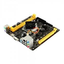 TARJETA MADRE BIOSTAR CPU INTEGRADO AMD FX-8800P 2X DDR4 2133 VGA HDMI 2X USB 3.1 MINI ITX (A10N-8800E)
