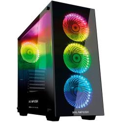 GABINETE BALAM RUSH SPECTRUM GAMING TORRE E-ATX/ATX /MICRO ATX/4 VENT RGB/2 USB 3.0/ ARGUS (BR-922975)