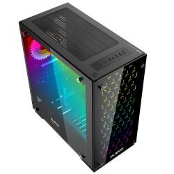 GABINETE BALAM RUSH SPECTRUM GAMING MEDIA TORRE ATX/MICRO ATX/3 VENT RGB/2 USB 3.0/ TALOS (BR-922968)