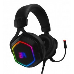 BALAM RUSH SPECTRUM AUDIFONOS ON-EAR GAMING/USB/7.1 CANALES/RGB/MICROFONO/NEGRO/ HESIX (BR-929776)