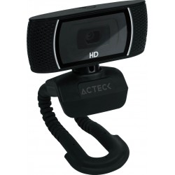 CAMARA WEB ACTECK W110 HD, RESOLUCION 720P, (AC-923088)