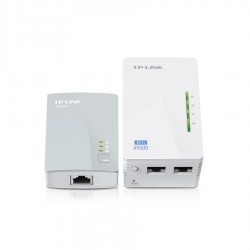 KIT POWERLINE TP-LINK AV600 N300 PLUG&PLAY (TL-WPA4220 KIT)