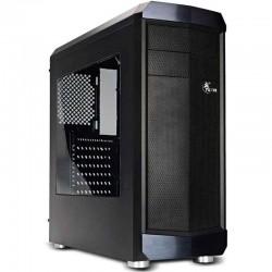 GABINETE XTECH ENVIRON MEDIA TORRE ATX ITX MICRO-ATX USB 2.0 3.1 SIN FUENTE NEGRO (XT-GMR2)