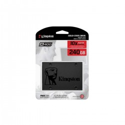 DISCO DE ESTADO SOLIDO SSD KINGSTON 240GB SATA 3 2.5 500/350 MB/S R/W(SA400S37/240G)