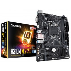 TARJETA MADRE GIGABYTE H310M M.2 2.0 8/9TH GEN INTEL M.2 LGA 1151, 2 X DDR4 DIMM SATA (H310M M.2.)