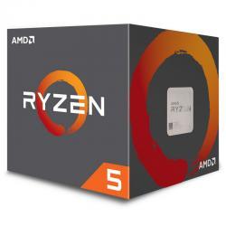 PROCESADOR AMD RYZEN 5 2600 3.4 GHZ 65W SOCKET AM4 WRAITH STEALTH C (YD2600BBAFBOX)