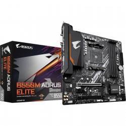 TARJETA MADRE GIGABYTE B550M AORUS ELITE REV 1.0 3RD GEN AMD RYZEN DDR4 (B550M AORUS ELITE)