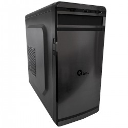 GABINETE MINI DUAN QIAN MN18-22 ATX FUENTE 550W, 1 VENT, 2 USB 2,0